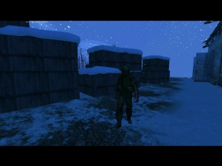 Эпическая походка замерзшего Антошки (szone online)