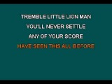 Little Lion Man - Karaoke - Mumford and Sons