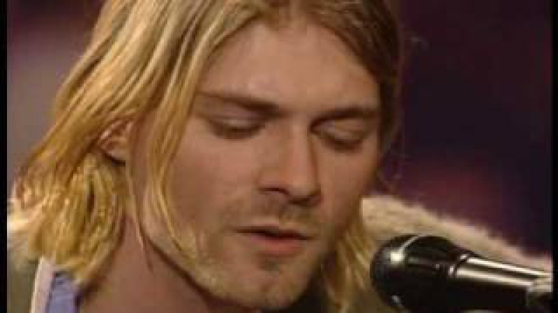 Nirvana - Jesus Doesnt Want Me for a Sunbeam - MTV Unplugged In New York