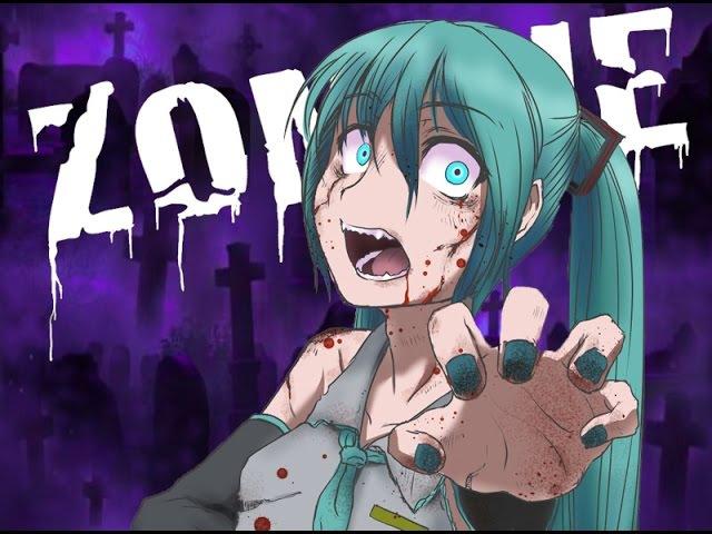 Miku English Zombie VOCALOIDカバー曲 VSQx