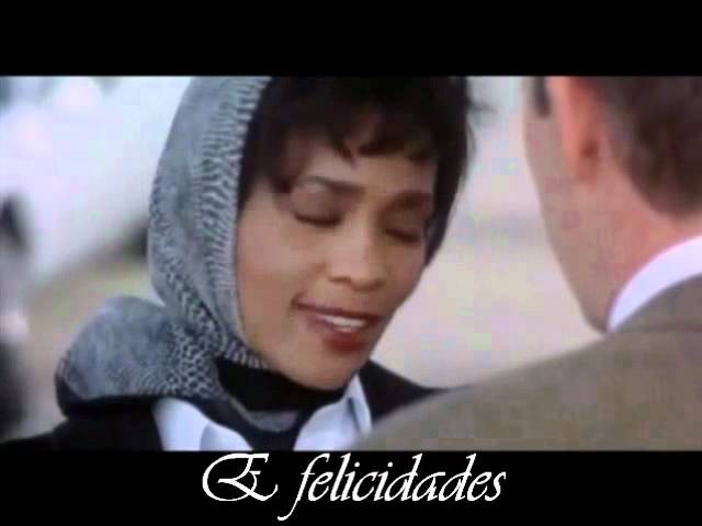 Whitney Houston I Will Always Love You legendado e traduzido tema do filme o guarda costas