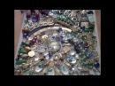 DIY Как сделать мозаику из бижутерии бисера и т п Делюсь личным опытом