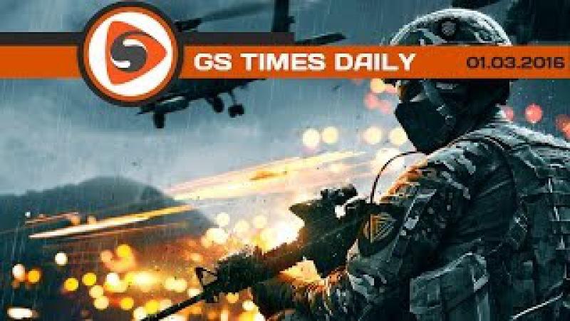 Gs Times на GameZonaPSTv: Battlefield 5, «Росомаха 3», Year of the Ladybug (05.11.2017)