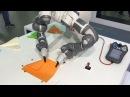 Dual-Arm Collaborative YuMi Robot makes paper aeroplanes - ABB Robotics