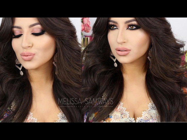 ♡ Rose Glam Holiday - Cat Smokey Eyes ♡ Make Up Tutorial | Melissa Samways