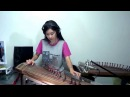 Led Zeppelin Stairway to heaven Guitar solo Gayageum cover by Luna Lee