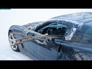 Найден угнанный Chevy Corvette. Ищем владельца!