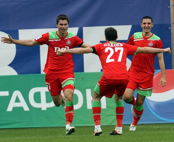 В расширенном списке «Локомотива» значится пять воспитанников клуба