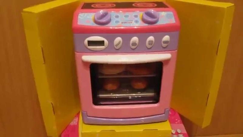 Детская игрушка видеообзор - газовая плита 2015 (kidtoy.in.ua)