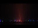 Закрытие Вроцловского фонтана на зиму в условиях жесткого тумана)