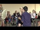 Благотворительная встреча с Веданой Дар. Мужчина встал с инвалидного кресла!!