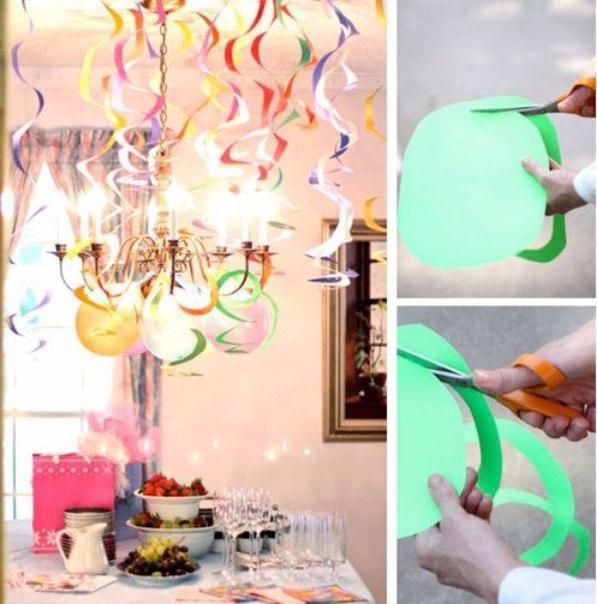 Идеи на день рождения своими руками из бумаги