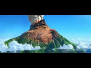 Милый и трогательный мультик о любви вулкана (6 sec)