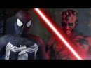 SPIDER MAN vs DARTH MAUL ALTERNATE ENDING Super Power Beat Down