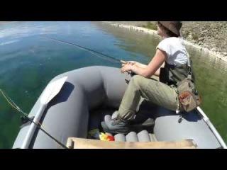 Рыбалка на Байкале нахлыстом