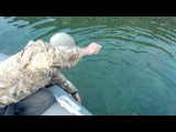 Рыбалка на Байкале нахлыстом, июль 2015