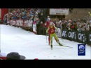 Marit Bjørgen vs Petter Northug jr in FIRST EVER Cross Country Sprint