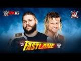 WWE 2K16. Kevin Owens vs Dolph Ziggler (WWE Fastlane 2016)