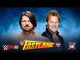 WWE 2K16. AJ Styles vs Chris Jericho (WWE Fastlane 2016)