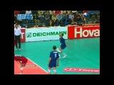 Чемпионат Европы. Волейбол (volleyball) 2003, Берлин, Россия-Сербия и Черногория