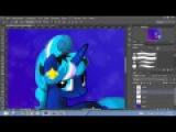SpeedPaint MLP:Делаем красивую картинку с пони