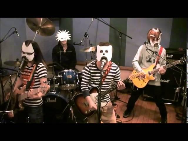 バンドで監獄学園OP『愛のプリズン』を演奏してみた。(流田Project)