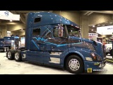 2016 Volvo VNL64T 780 Truck with Volvo D13 425hp Engine -Ext, Int Walkaround - 2015 Expocam Montreal