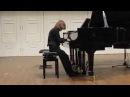Debussy Doctor Gradus ad Parnassum A.Shilo 8year. ЦМШ