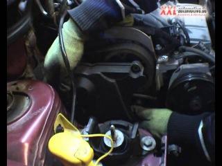 Замена ремня ГРМ на Рено с двигателем K4M