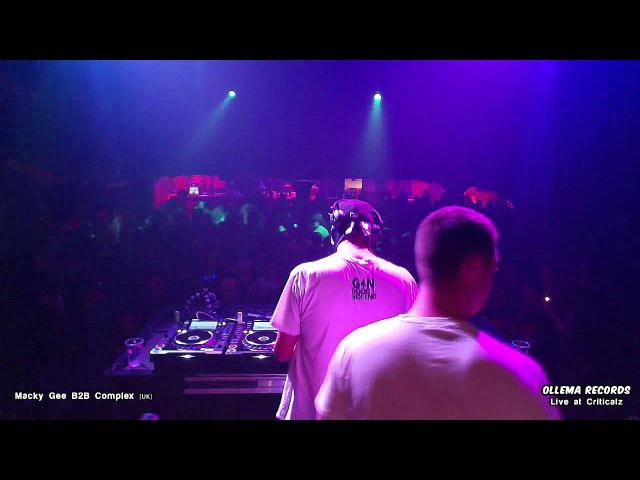 Macky Gee B2B Complex Live at Criticalz 13.09.14
