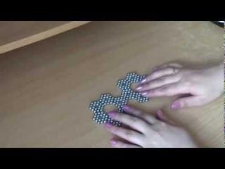 Фигурки из неокуба из 216 неодимовых магнитных шариков