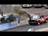Ford Ranger Powerstroke vs Bullydog Built Cummins (Drag Racing)