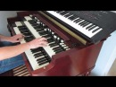 Je t'aime mois non plus cover on Hammond B3