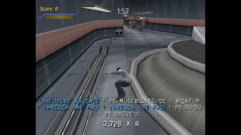 Tony Hawk's Pro Skater 3 Speed Run (00:05:47)