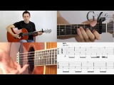 Little Talks - Of Monsters And Men - Fingerstyle Guitar Tutorial &amp Tabs