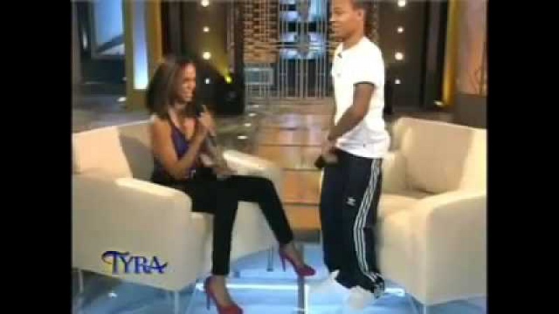 Bow Wow Kisses Tyra Banks On The Lips Tyra Spits A Freestyle