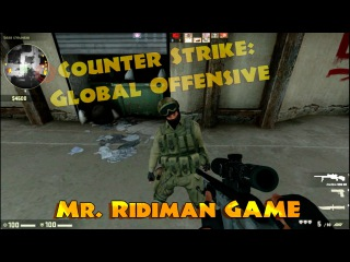 Mr. Ridiman: Counter Strike: Global Offensive. Cool game. Excellent skill. de_dust2 map