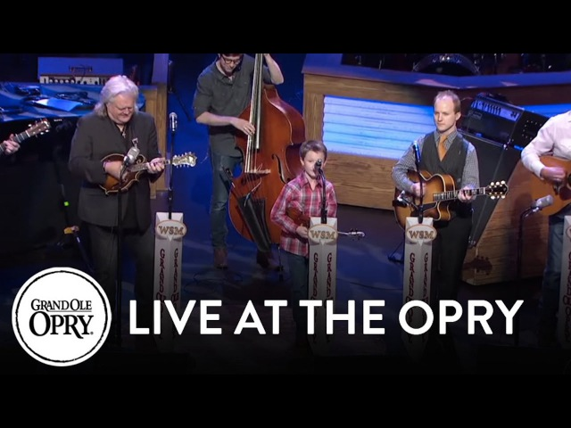 Carson Peters and Ricky Skaggs - Blue Moon of Kentucky | Live at the Grand Ole Opry | Opry