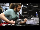 NAMM 2014: John Browne of Monuments checking out Randall Amplifiers