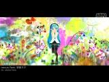 Hatsune Miku - Aqua and Spaceship