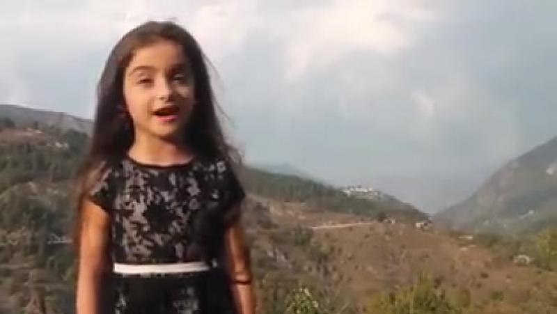ჰოიდა ნანა, ოჰოი ნანა - უსაყვარლესი ბავშვი ძალიან მაგრად ამბობს ლექსს