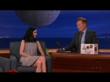 Conan - 2015.12.14 - Andy Serkis, Krysten Ritter, Drennon Davis Karen Kilgariff