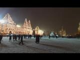Красная Площадь, первый снег.