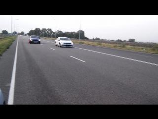 Октановые роллы EVO vs VW scirocco