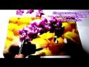 Ободок канзаши. Ободок с лилиями канзаши
