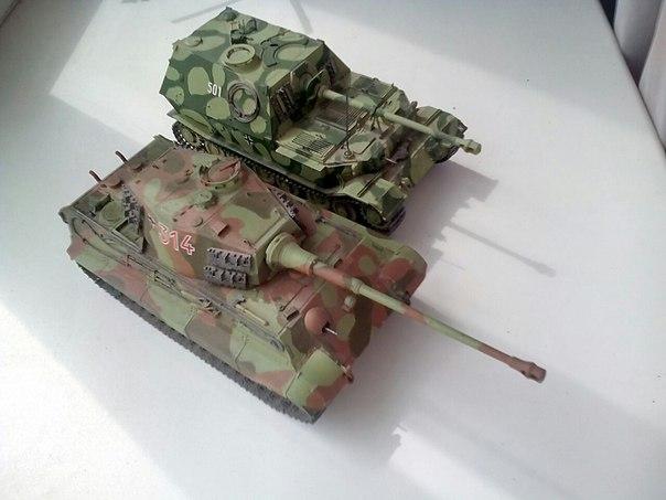 Королевкий тигр и Элефант(Фердинанд) ZteRX70ay5g