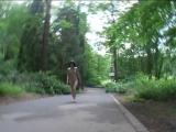 Mia Nude in Public