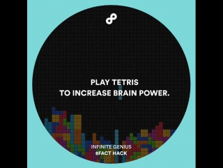 A good way to train your brain! Follow @8facthack for more awesome advices!