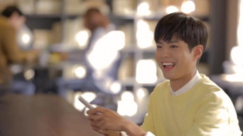 2월 29일 Пак Бо Гом и Ким Гоын за кулисами рекламы для G9