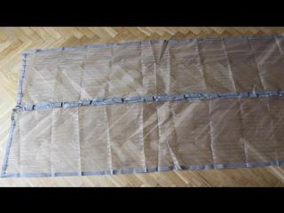 Москитная сетка на магнитах для двери
